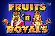Азартный аппарат Fruits and Royals