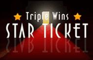 Играть в азартную игру Triple Wins star Ticket